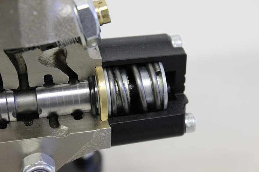Mdcv Cm Cutaway Models Fluid Power Training Institute